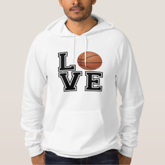Love Basketball College Style Hoodie