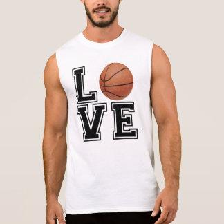 Love Basketball College Style Sleeveless Shirt