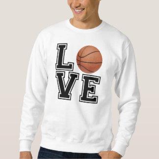 Love Basketball College Style Sweatshirt