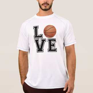 Love Basketball College Style T-Shirt