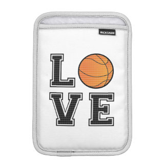 Love Basketball iPad Mini Sleeves