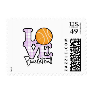 Love Basketball Postage