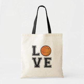 Love Basketball Tote Bag