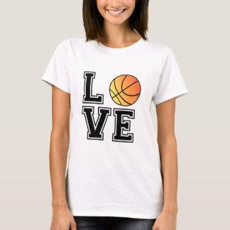 Love basketball, word art, text design for t-shirt