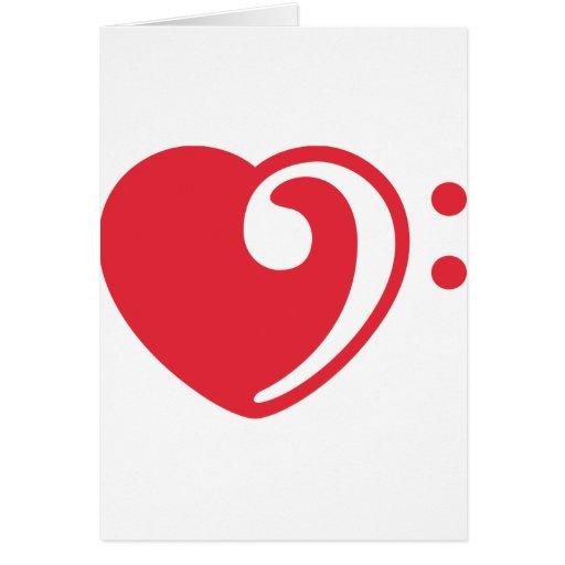 love bass cards