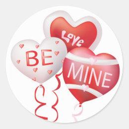 Love Be Mine - Valentine Sticker