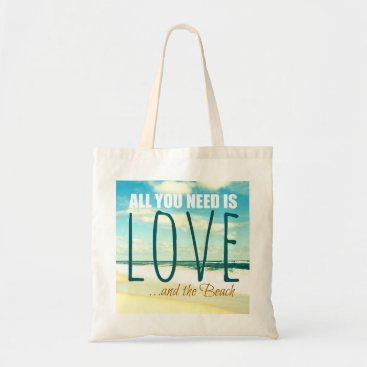 Beach Themed Love Beach Photo Bag