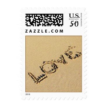 DizzyDebbie Love Beach Wedding Stamp