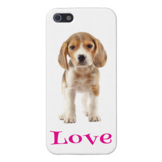 Love Beagle Puppy Dog iPhone 5 Cover Case