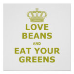 Love Beans! Posters