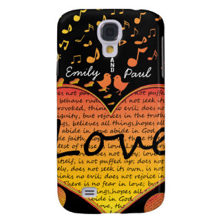 Love Bears All Things 1 Corinthian 13 iPhone Cover