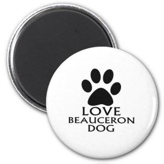LOVE BEAUCERON DOG DESIGNS MAGNET