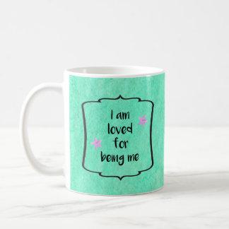 Love Beauty Acceptance Affirmation Motivation Coffee Mug