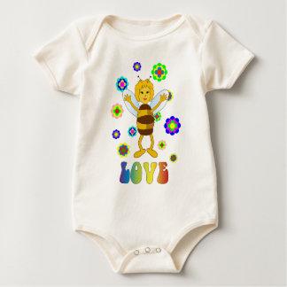 Love Bee Baby Bodysuit