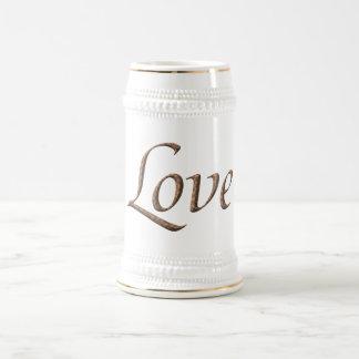 Love Beer Stein