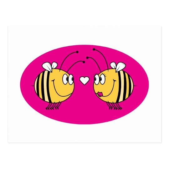 Love Bees Postcard