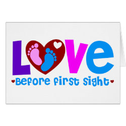 Love Before First Sight Card