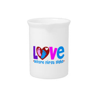 Love Before First Sight Drink Pitcher