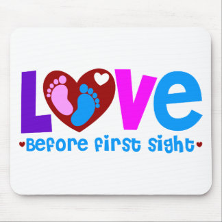 Love Before First Sight Mouse Pad