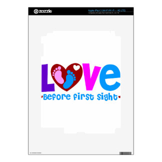 Love Before First Sight iPad 3 Decals