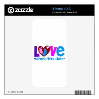 Love Before First Sight Skin For The iPhone 4S