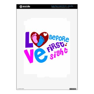 Love Before First Sight Decal For iPad 3