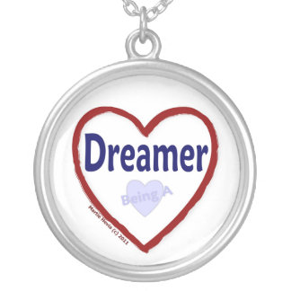 Love Being a Dreamer Silver Plated Necklace