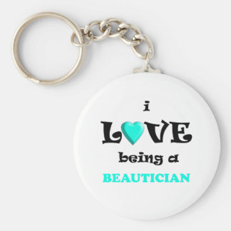 Love Being Beautican Keychain