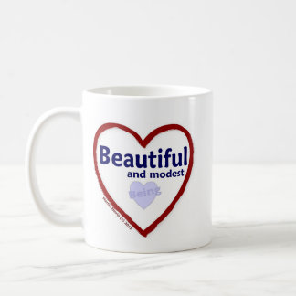 Love Being Beautiful & Modest Coffee Mug