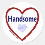 Love Being Handsome Sticker