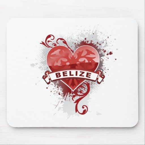 Love Belize Mousepad