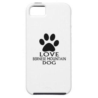 LOVE BERNESE MOUNTAIN DOG DESIGNS iPhone SE/5/5s CASE