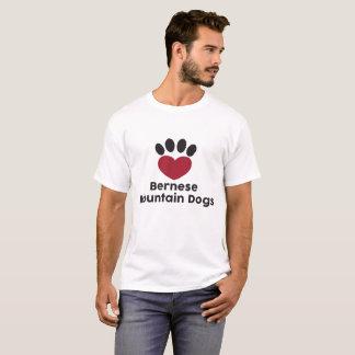 Love Bernese Mountain Dogs T-Shirt