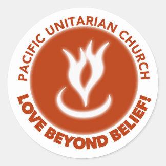 Love Beyond Belief! Classic Round Sticker