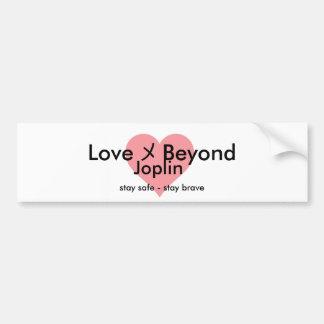 Love Beyond Heart Bumper Sticker