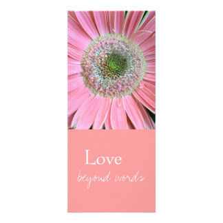 Love Beyond Words Bookmarks Custom Announcements