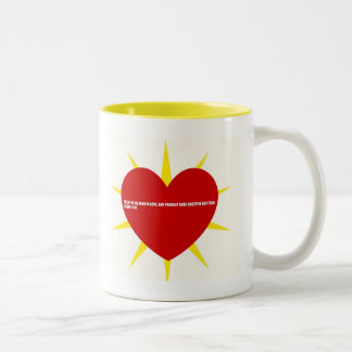 Love  Bible Quotes Two-Tone Coffee Mug