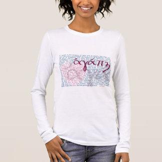 Love Bible Verse on Christian Womens Shirt