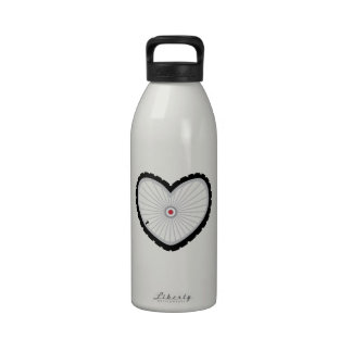 Love Bicycle Reusable Water Bottle