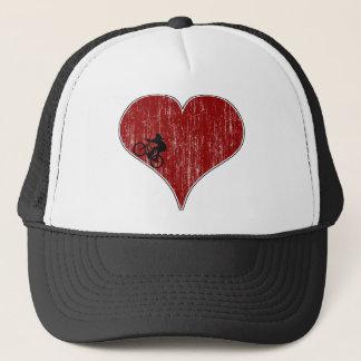 Love Biking Cycling Trucker Hat