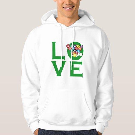 Love Billiards Sweatshirt