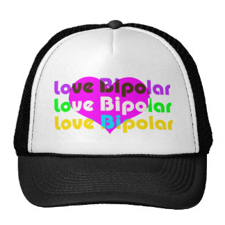 love bipolar regular trucker hat