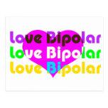 love bipolar regular post card