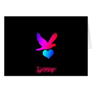 Love bird 2, Love Stationery Note Card