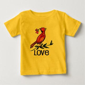 Love bird baby body shirt