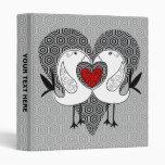 Love Bird Binder Grey