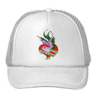 Love Bird DJ and Kim Trucker Hat