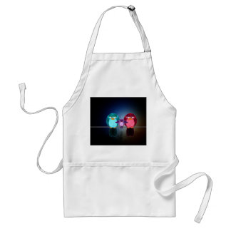 Love Bird Familly Adult Apron