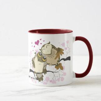 Love Bird Owls Mug