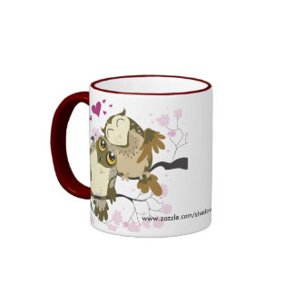 Love Bird Owls Mug